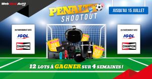 Règlement jeu « Penalty Shootout »