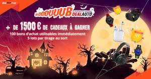Fêtez Halloween avec notre nouveau jeu Wooouuubdealauto !