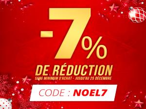 -7% de réduction immédiate !